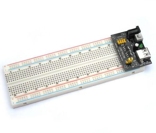 3.3 v/5v breadboard güç kartı